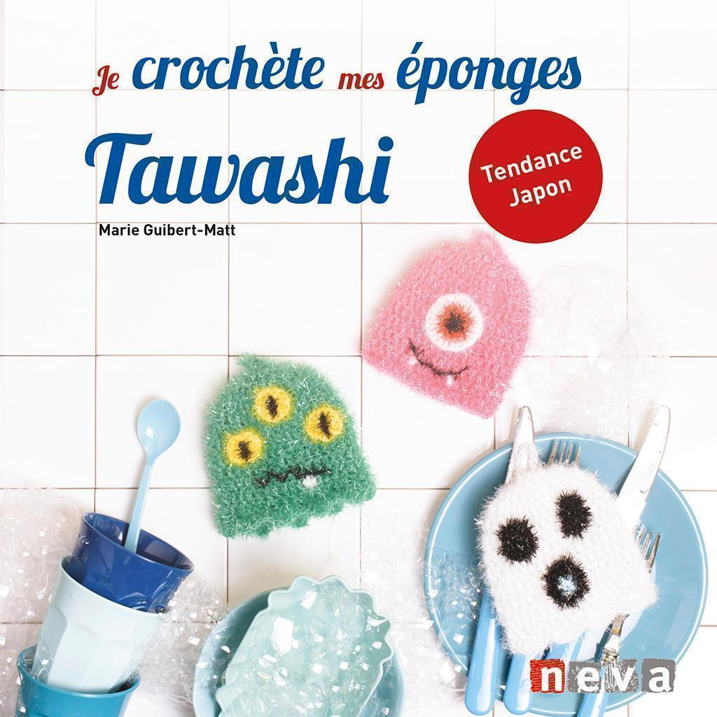 Crocheting my Tawashi Sponges
